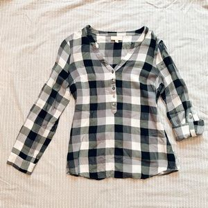 ModCloth Checked Shirt